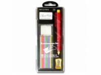 Porte-mines craies + recharges taille-crayon inclus