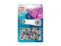 Boutons pressions ''Jersey'' anneau 18mm