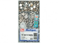 Boutons pression ''Sport & Camping'' multipac 15mm