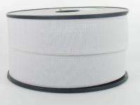 Elastique Cotelé 30 mm Blanc