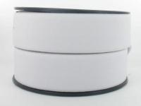 Elastique Cotelé 35 mm Blanc