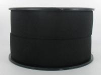 Elastique Cotelé 35 mm Noir