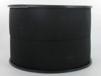 Elastique Cotelé 40 mm Noir