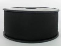 Elastique Cotelé 50 mm Noir