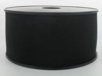 Elastique Cotelé 60 mm Noir