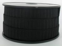 Elastique Gros Grain 20 mm Noir