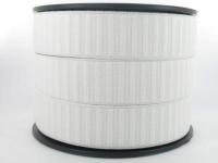 Elastique Gros Grain 30 mm Blanc