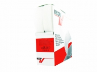 Velcro Adhésif 20 mm Blanc
