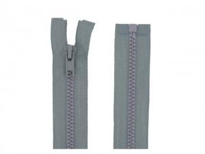 Fermeture Séparable gris perle