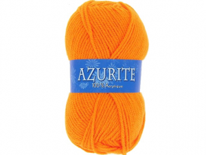 Laine azurite orange