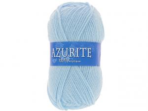 Laine azurite bleu claire