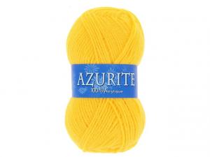 Laine azurite jaune