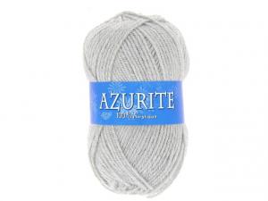Laine azurite gris clair