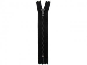 Fermeture pantalon métal noir