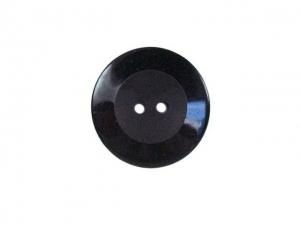 Bouton noir-gris