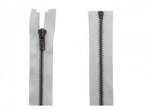 Fermeture Séparable Métal Bronze blanc
