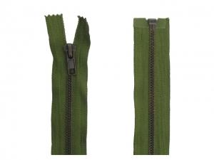 Fermeture Séparable Métal Bronze vert armée