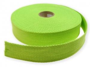 Sangle coton 30 mm Vert