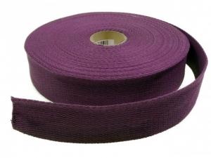 Sangle coton 30 mm Violet