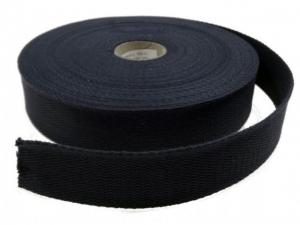 Sangle coton 30 mm Noir