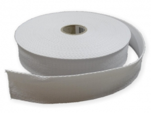 Sangle coton 30 mm Blanc