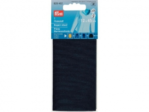 Thermocollant percale Bleu marine