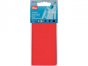 Thermocollant percale Rouge