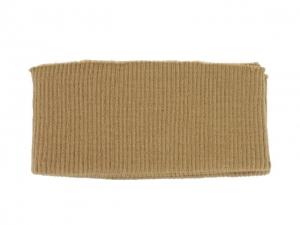 Bord côte ceinture chameau