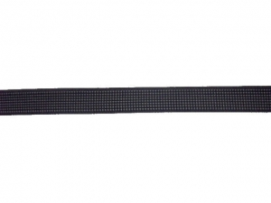 Rigilène 12 mm noir