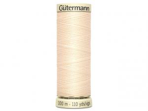 Fil pour tout coudre Gütermann sable 414