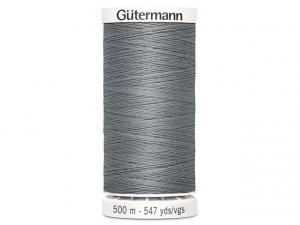 Fil à coudre Gütermann 500m col : 040 gris soutenu