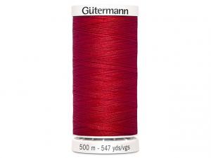 Fil à coudre Gütermann 500m col : 156 rouge