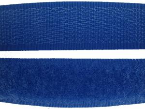 Ruban auto-agrippant 20 mm bleu roy