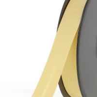 Biais textile 20 mm Jaune pâle