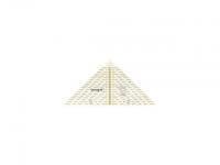 Triangle 1/4 carré, 20 cm