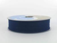 Biais 30 mm bleu foncé