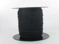 Elastique Chapeau 1 mm Noir