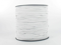Elastique Chapeau 2.4 mm Blanc