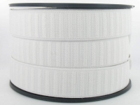 Elastique Gros Grain 25 mm Blanc