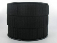 Elastique Gros Grain 30 mm Noir