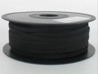 Elastique 6 Gomme Souple Noir