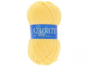 Laine azurite jaune clair