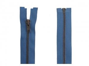 Fermeture Séparable Métal Bronze bleu jeans