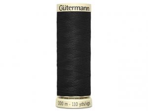 Fil pour tout coudre Gütermann noir 000