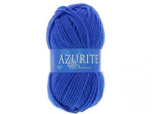 Laine azurite bleu roy