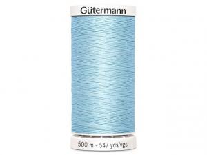 Fil à coudre Gütermann 500m col : 195 bleu clair