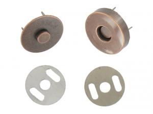 Bouton magnétique Vieux bronze