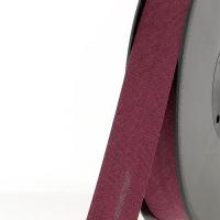 Biais textile 20 mm Bordeaux