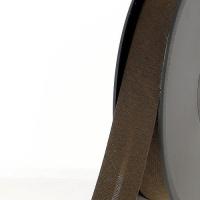 Biais textile 20 mm Marron