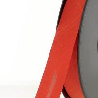 Biais textile 20 mm Rouge